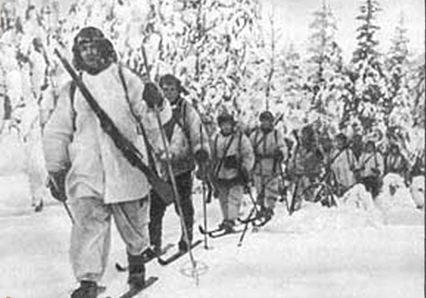 Подвигу лыжных батальонов посвящается