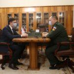 В Орловскую область прибыла делегация Центральной конкурсной комиссии Министерства обороны России