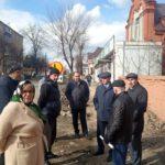Начался комплексный ремонт участка проезжей части на улице Максима Горького