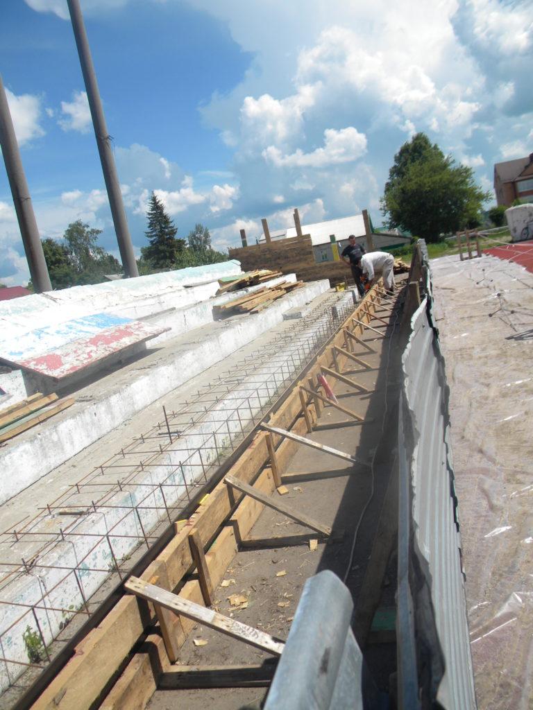 Продолжается модернизация стадиона МАУ «ФОК»