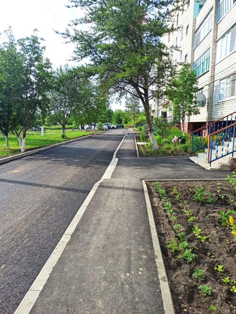 Благоустраивают не только городские улицы
