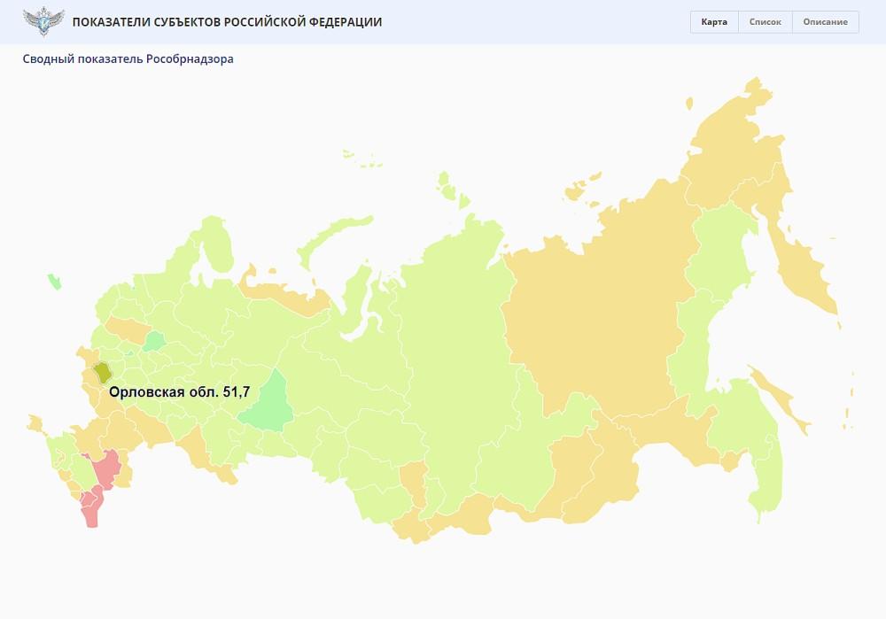 Орловская область признана регионом с высоким качеством образования