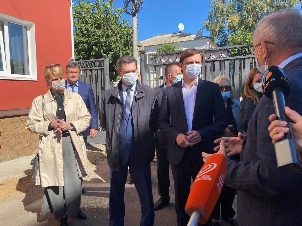 Губернатор Орловской области Андрей Клычков посетил значимые социальные объекты в Ливнах