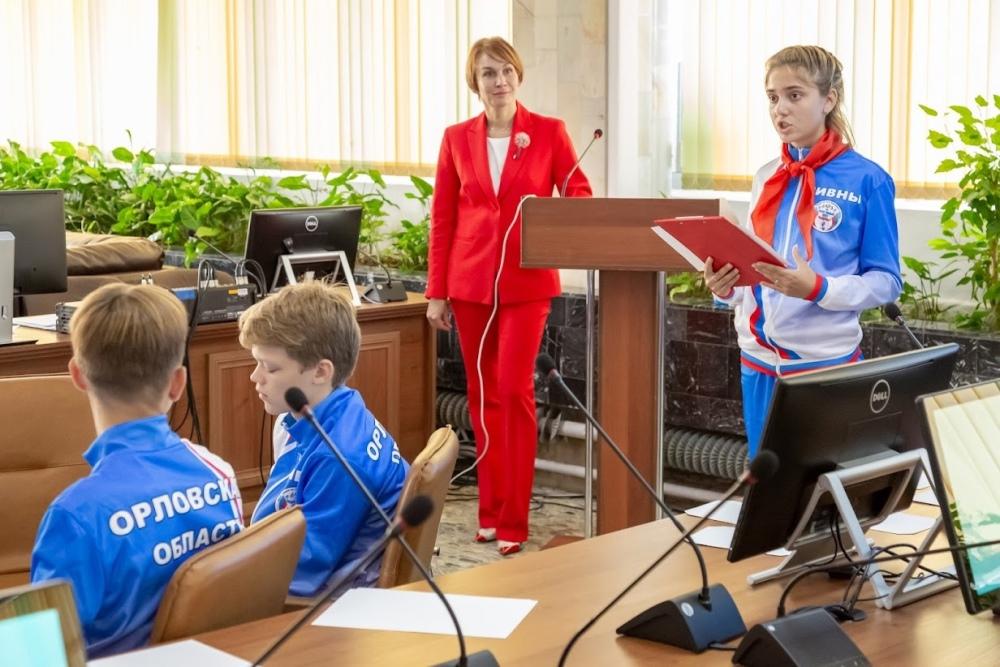 Школьники города Ливны успешно выступают на Президентских спортивных соревнованиях