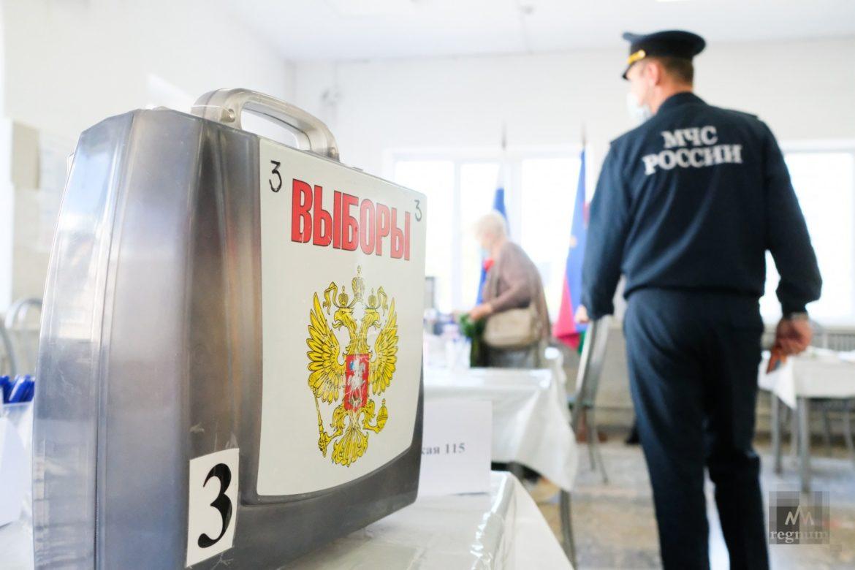 Безопасность на высоте: на избирательных участках Орловщины дежурят сотрудники МЧС