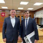 Андрей Клычков встретился с заместителем Председателя Правительства РФ Маратом Хуснуллиным
