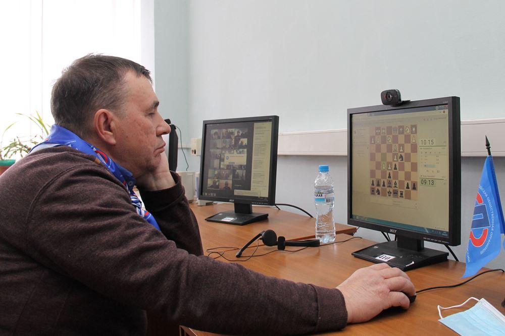 Орловские пенсионеры заняли шестое место в шахматном интернет-турнире