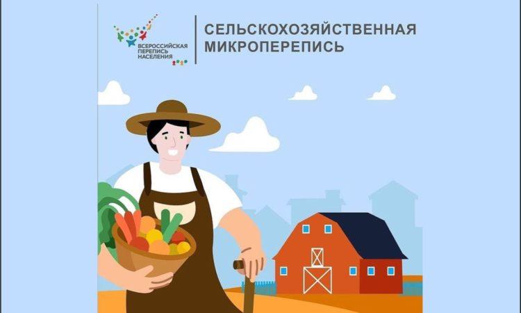 В августе пройдёт сельскохозяйственная микроперепись